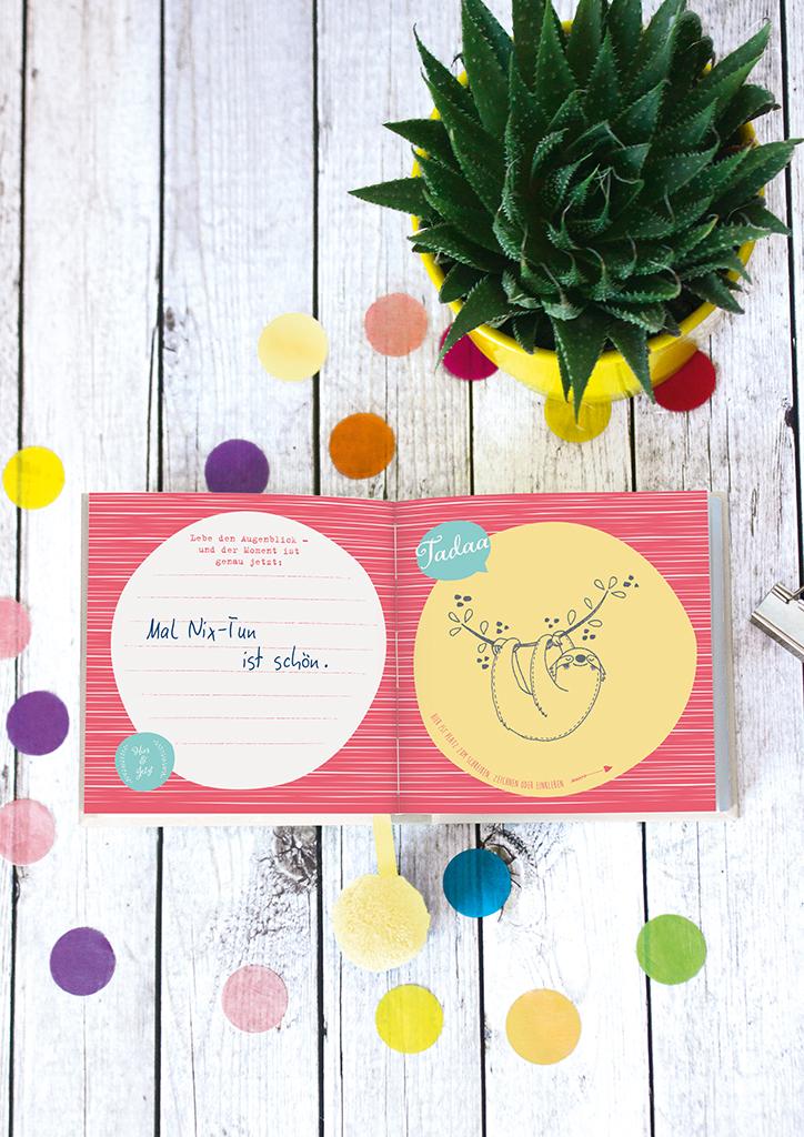 Happy me Glücksmomente Eintragbuch