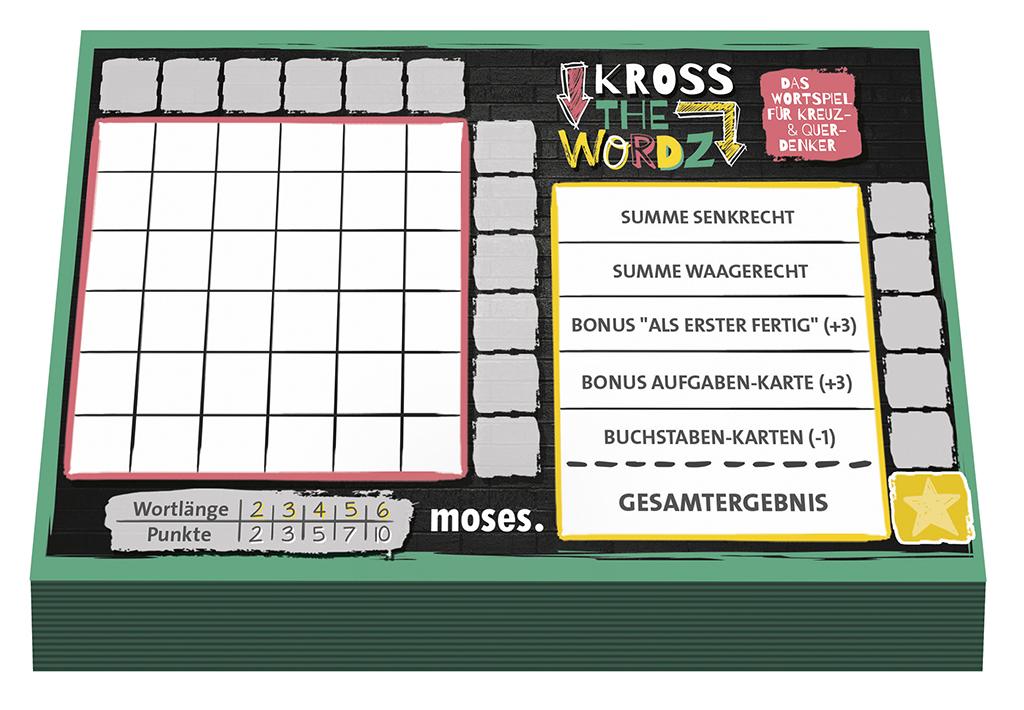 Kross the Wordz  - Ersatzblock
