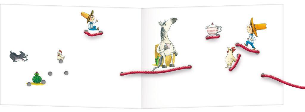 Mein Fädelbuch - Schwing das Lasso!