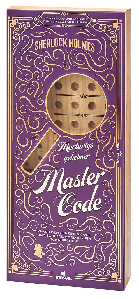 Sherlock Holmes: Moriartys geheimer Mastercode - Geduldspiel
