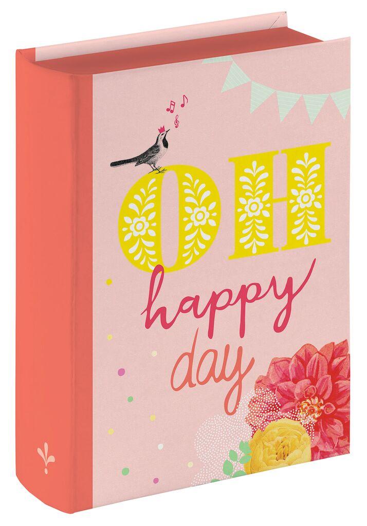 Mini-Buchbox oh happy day