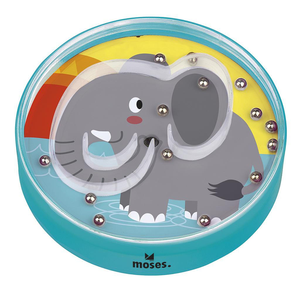 Up & Down Junior - Lustiges Kugel-Geduldspiel Elefant