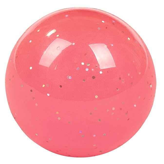 Nachtleuchtender Flummi pink