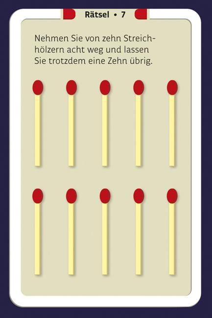 Streichholzspiele