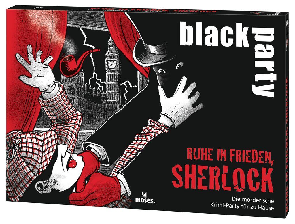 black party - Ruhe in Frieden, Sherlock