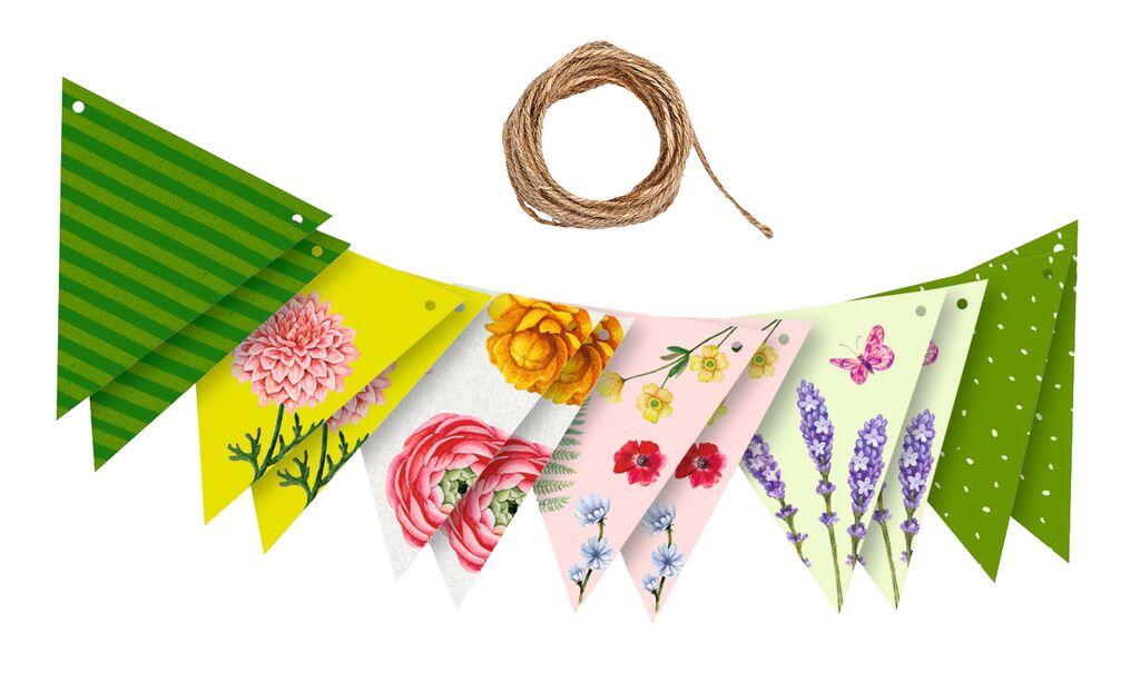Blatt & Blüte Dekogirlande