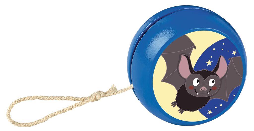 Krabbelkäfer Holzjojo blau