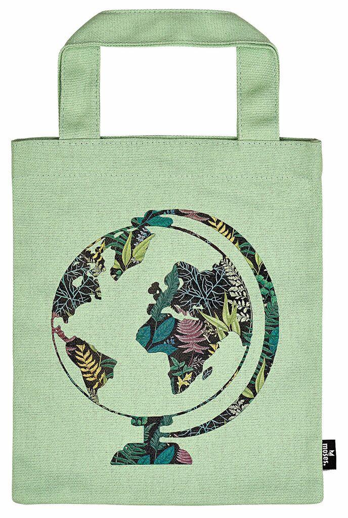 Büchertasche Grüner Planet