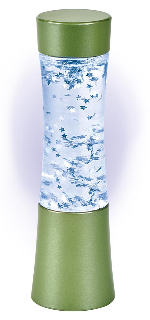 Glitzerlampe grün