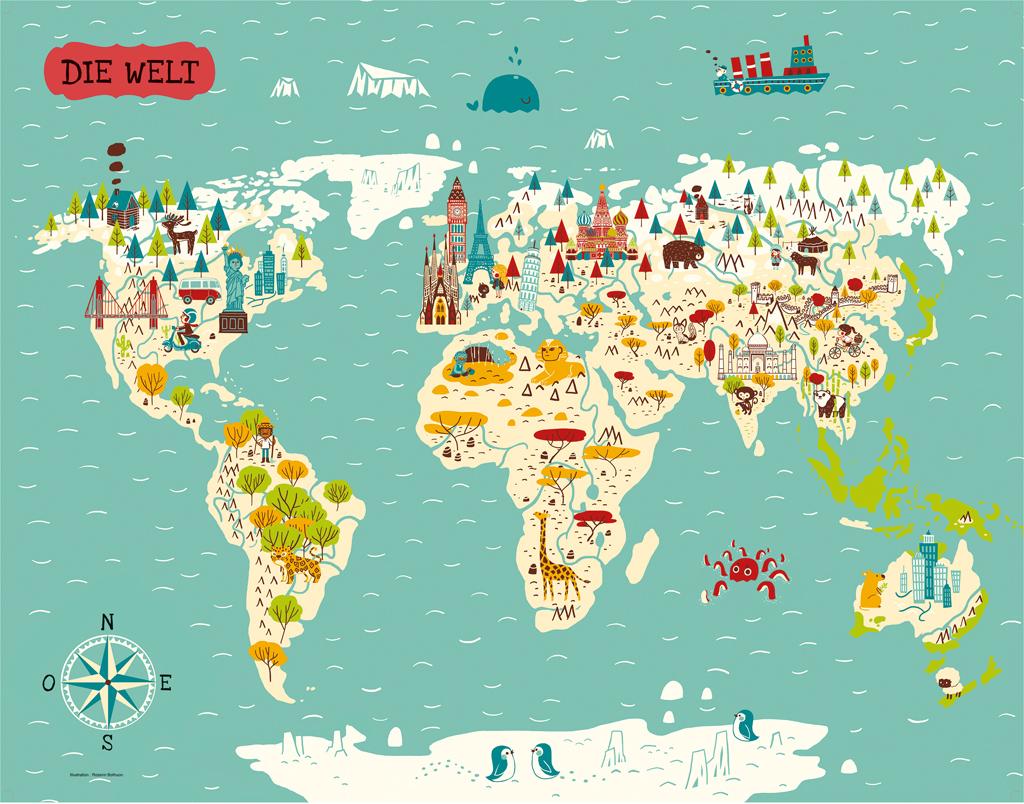 Bastel dir die Welt - 10 berühmte Wahrzeichen aus Papier
