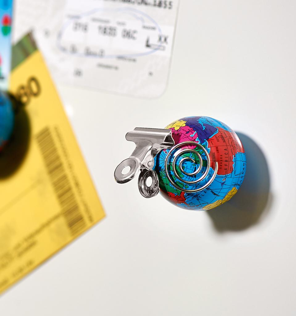 Fernweh Weltkugel-Magnete 4er Set