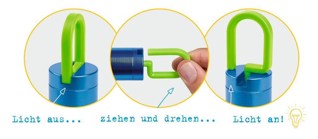 Expedition Natur Taschenlampe Twist & Shine (versch. Farben)