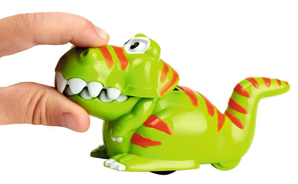 Flitzender T-Rex grün