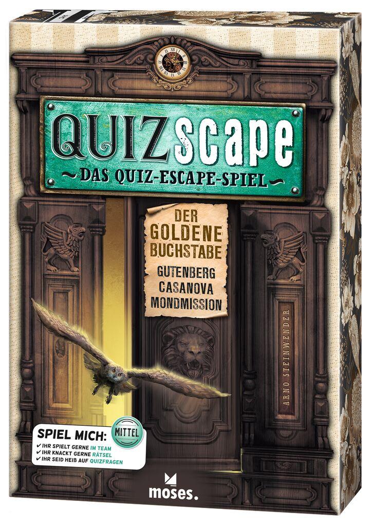 QUIZscape - Der goldene Buchstabe
