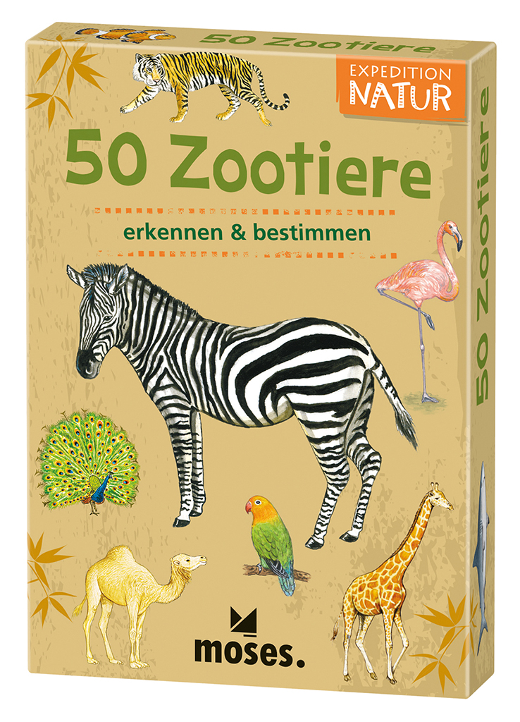 Expedition Natur - 50 Zootiere