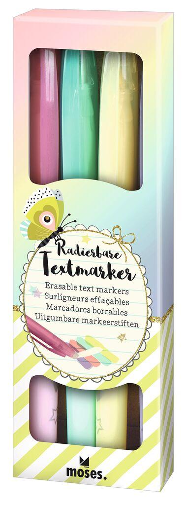 Flowers & Friends Radierbare Textmarker