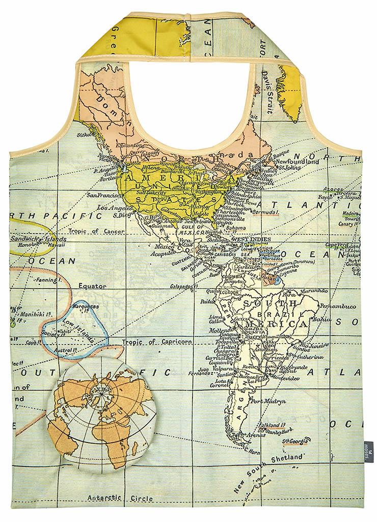 Fernweh Zaubershopper Weltkarte