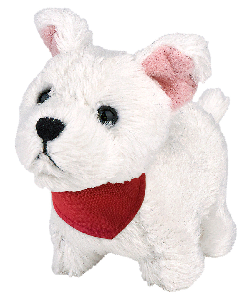 Kleiner Plüsch-Hund zum Aufziehen (versch. Varianten)