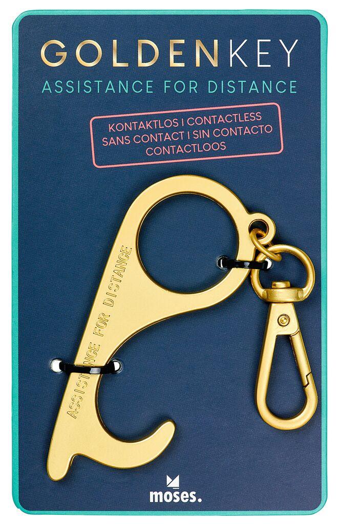 Golden Key Kontaktloser Alltagshelfer (versch. Farben)
