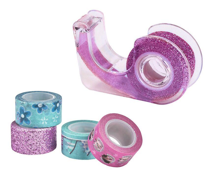 Deko-Tape Pferde pink