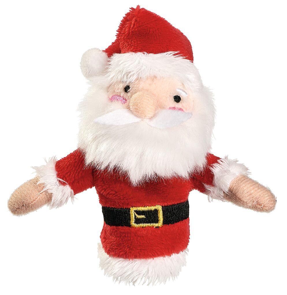 Fingerpüppchen Weihnachtsfreunde Nikolaus