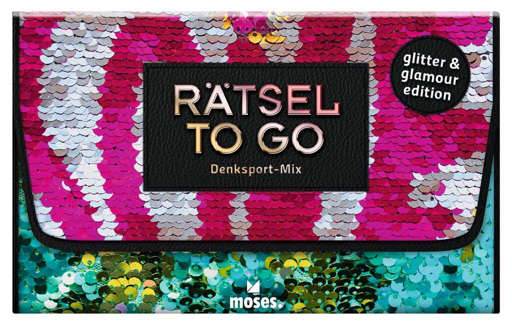 Rätsel to go Denksport-Mix: glitter edition