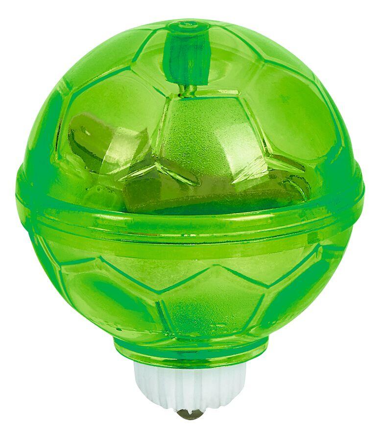 Fußball-Fieber Leuchtender Kreisel grün