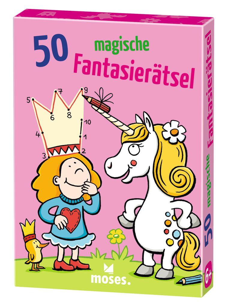 50 magische Fantasie-Rätsel
