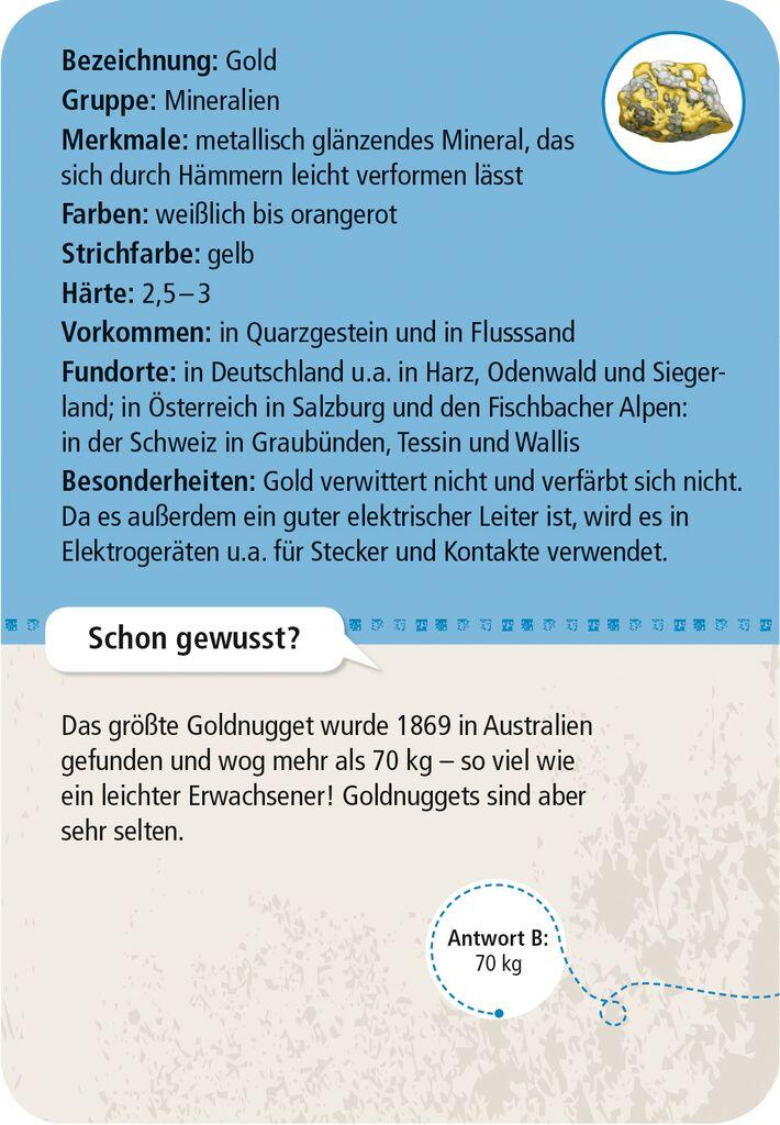Expedition Natur - 50 Mineralien und Steine