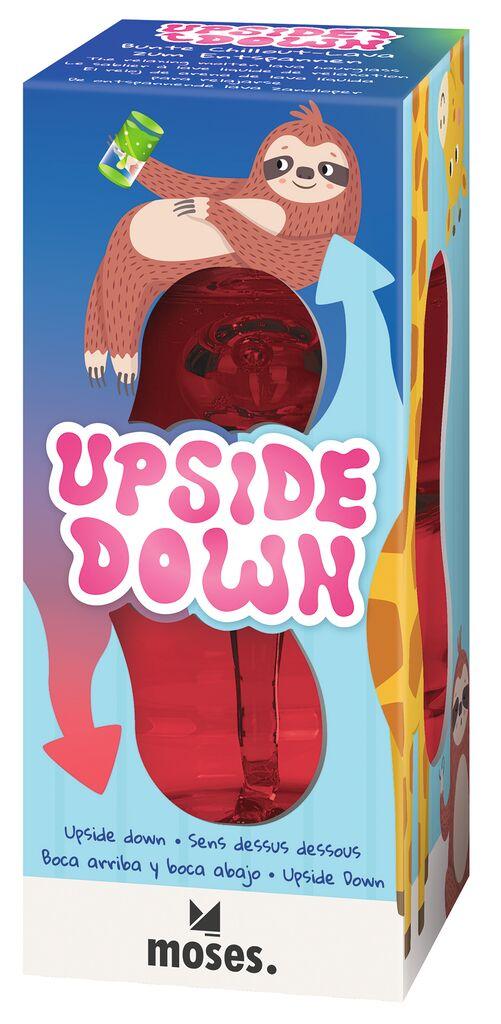 Upside-down - Bunte Chillout-Lava zum Entspannen rot