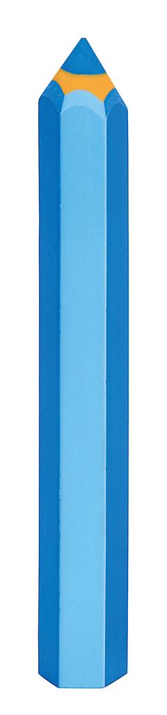 """Radierer """"Bunte Stifte"""" blau"""