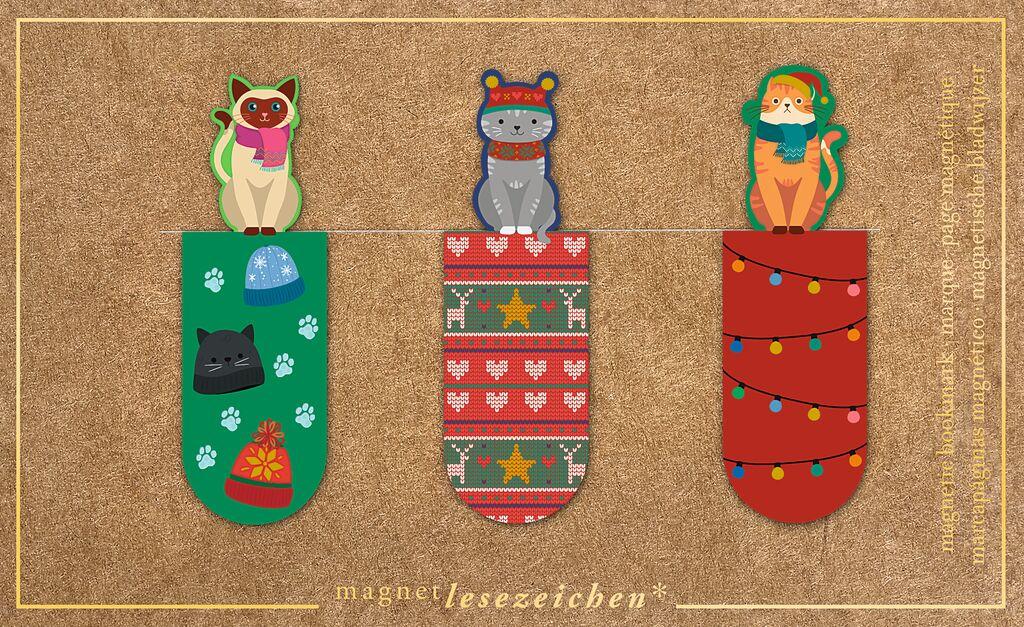 Magnetlesezeichen Weihnachten