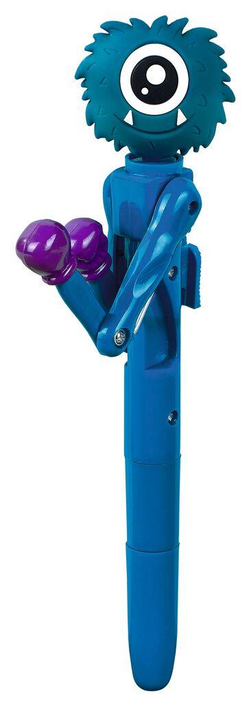 Kugelschreiber Monster-Battle blau