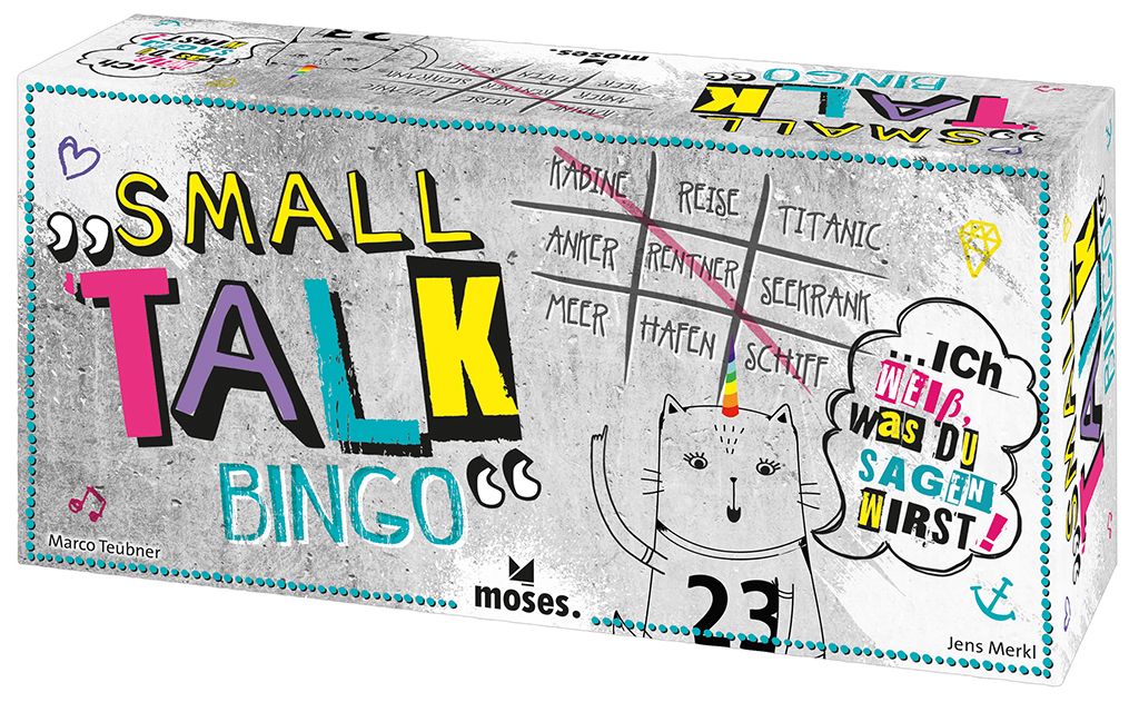 Small Talk Bingo - Kommunikationsspiel