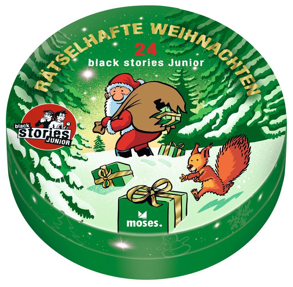 Rätselhafte Weihnachten - black stories Junior