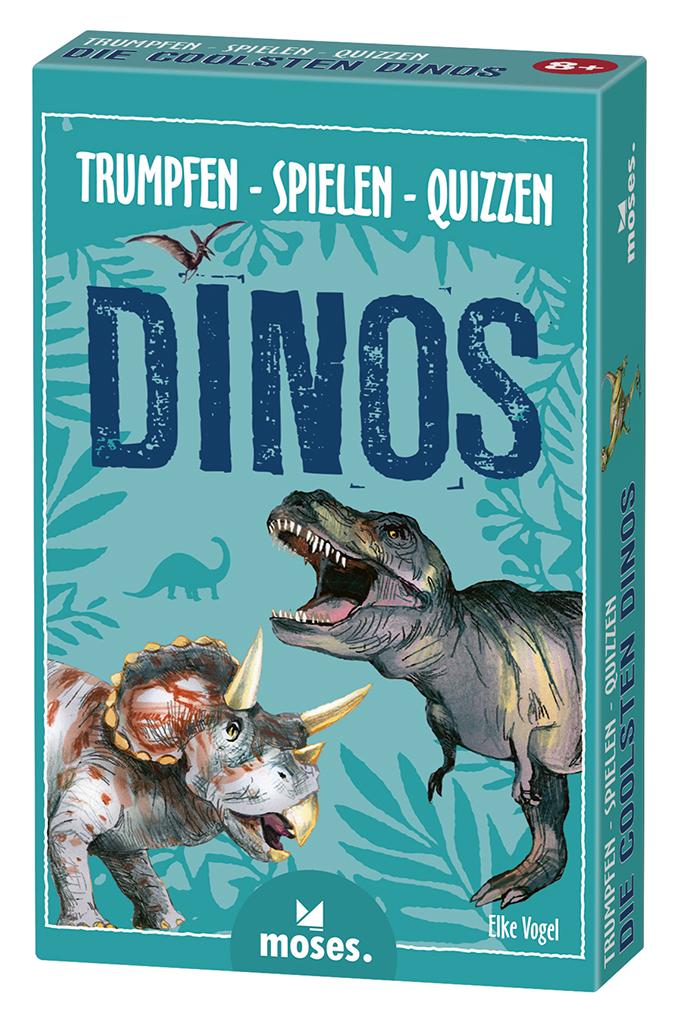 Trumpfen Spielen Quizzen - Dinos