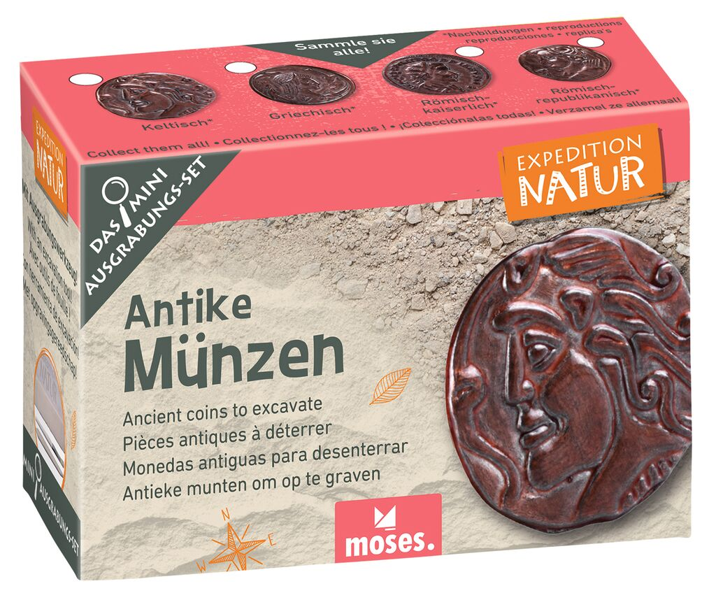 Expedition Natur Mini-Ausgrabungsset Antike Münzen