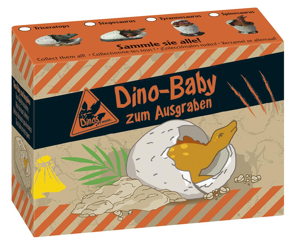 Dino-Baby zum Ausgraben
