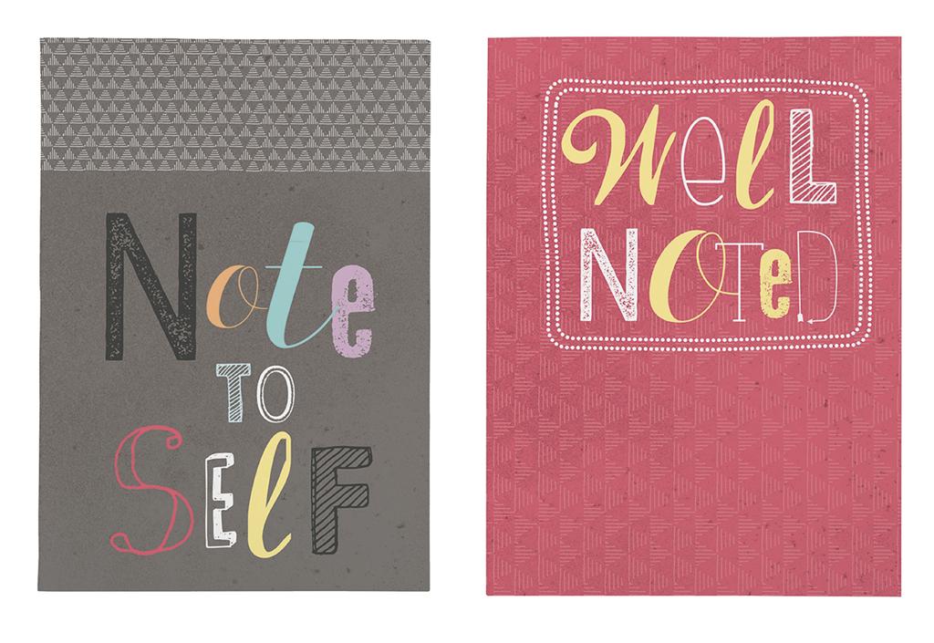 Happy me Notizheft-Set Note