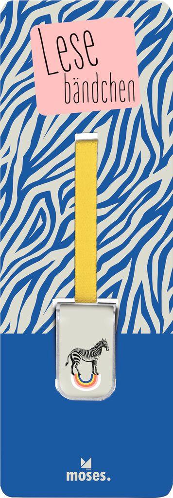 Lesebändchen Zebra