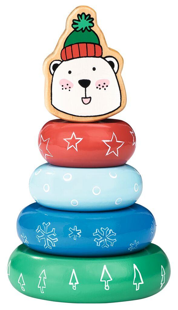 Steckspiel Weihnachtsfreunde Eisbär
