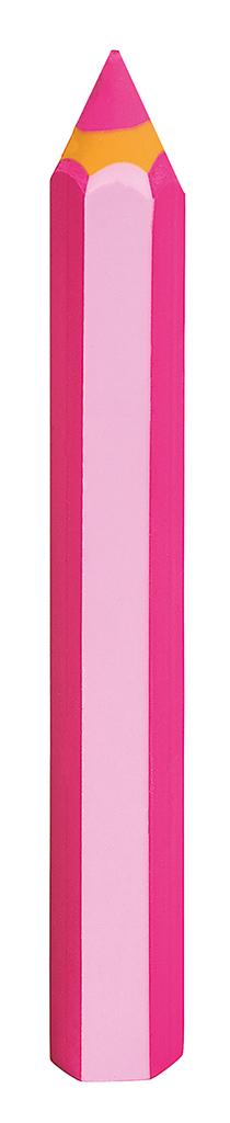"""Radierer """"Bunte Stifte"""" pink"""