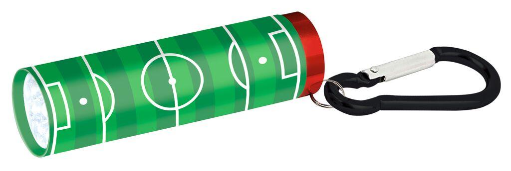 Fußball-Fieber Taschenlampe grün
