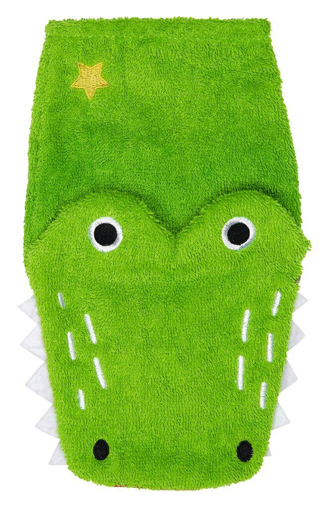 Zauber-Waschhandschuh Krokodil