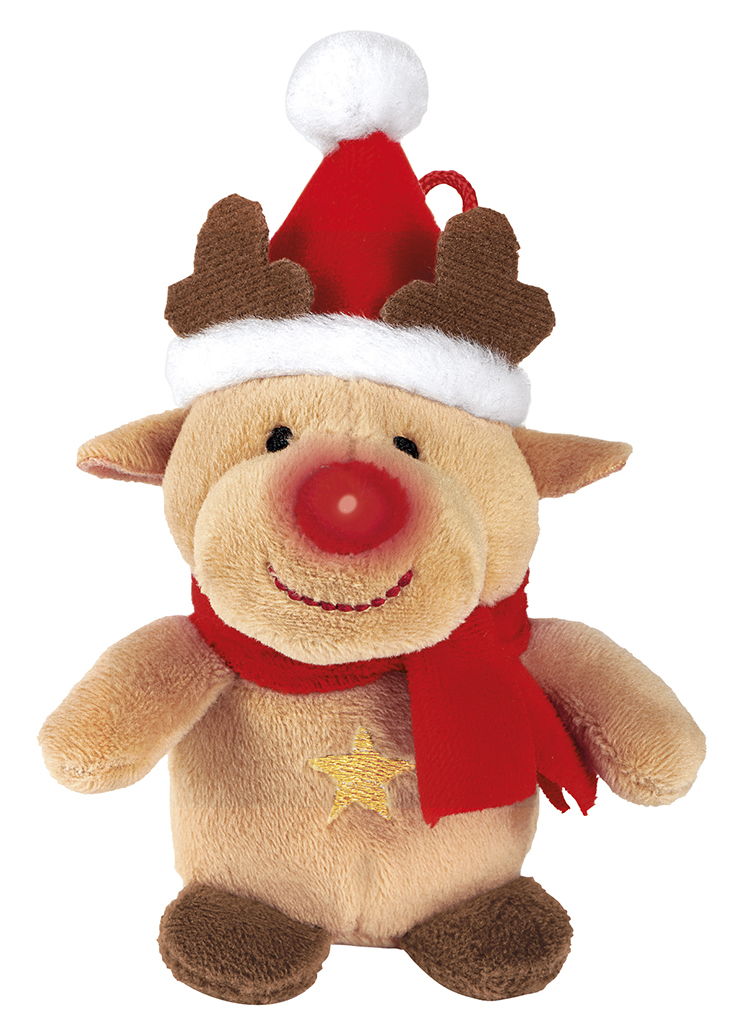 Singender Weihnachtsfreund Rentier