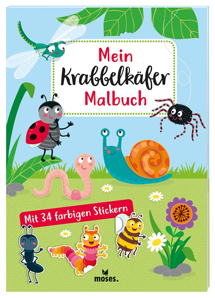 Mein Krabbelkäfer-Malbuch
