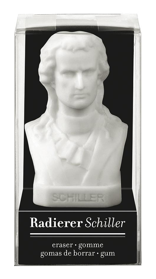Radierer Schiller