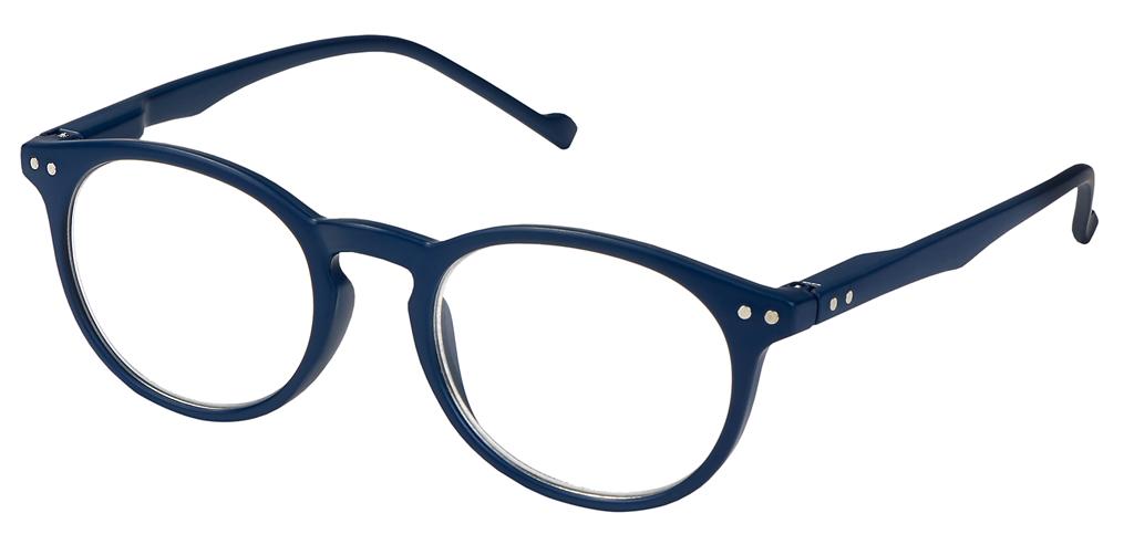 Lesehilfe Style +2.5 blau