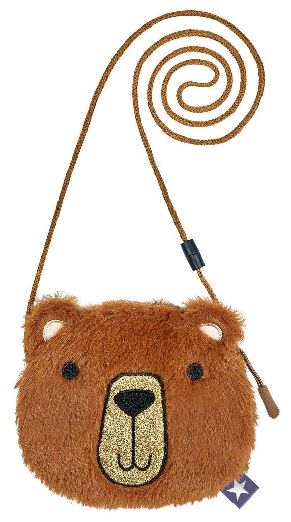 Plüschtasche Teddybär zum Umhängen