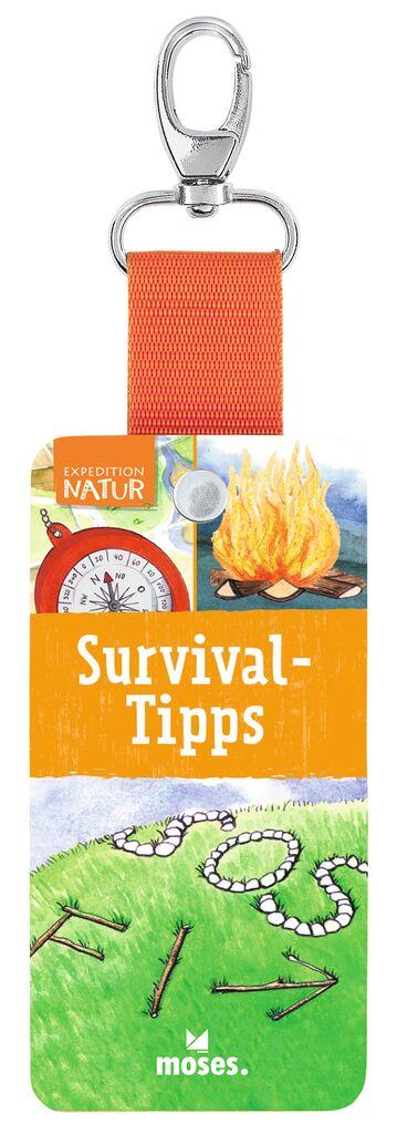 Expedition Natur Fächer - Survival-Tipps